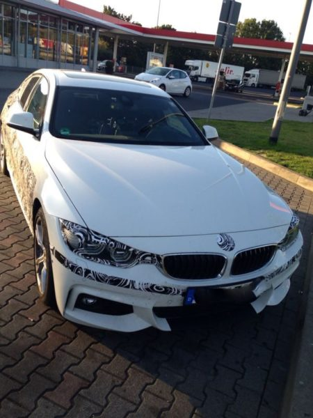 Check out the upcoming BMW 4 Series Gran Coupe in these spy pics