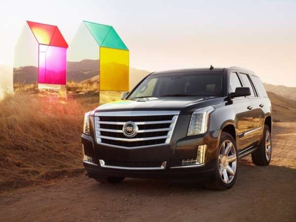Swag just got Hotter! 2015 Cadillac Escalade revealed
