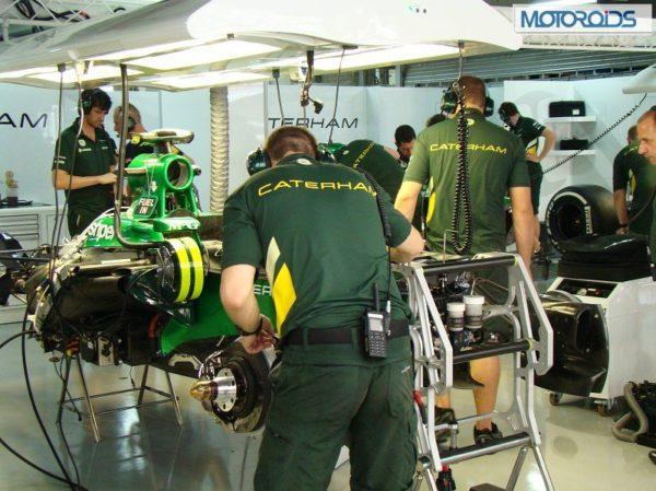 F1 Car in Making 2