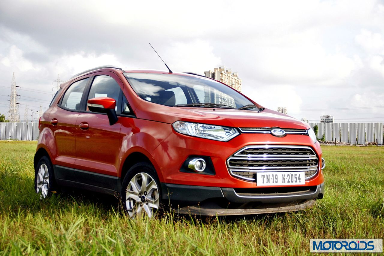 ford ecosport 1 5 tdci diesel review images specs price features and details motoroids. Black Bedroom Furniture Sets. Home Design Ideas