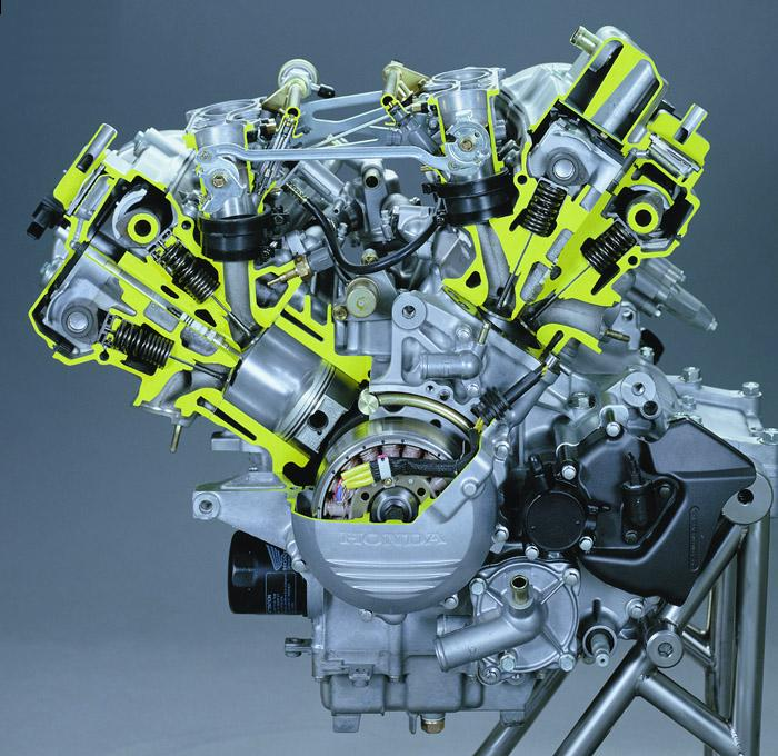 Honda VF800 engine