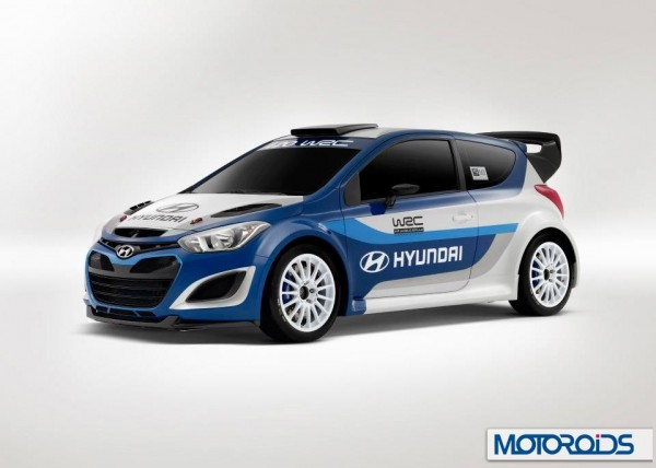 Hyundai performance brand based on the i20 wrc