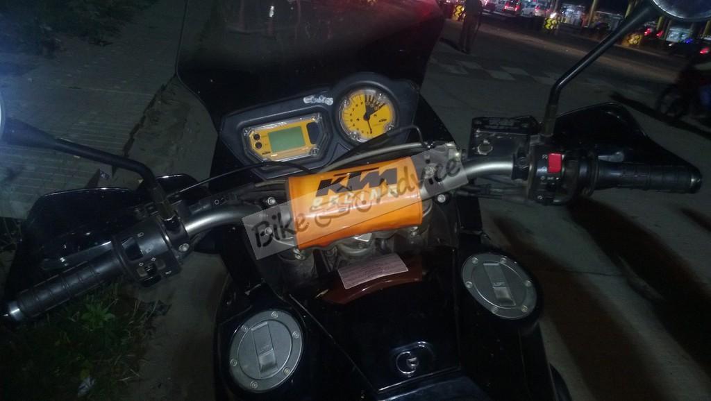 KTM 950 Adventure spy spots india (1)