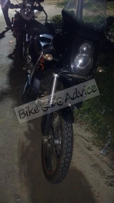 KTM 950 Adventure spy spots india
