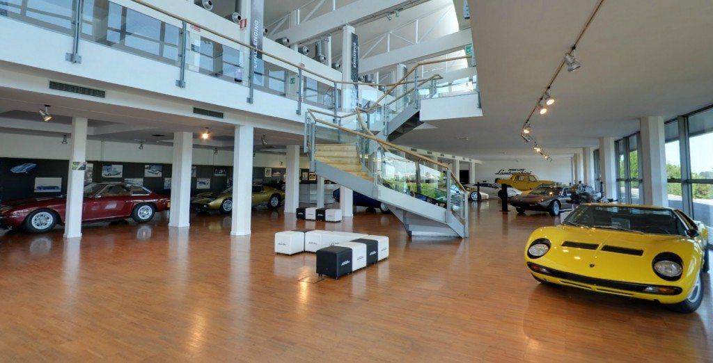 Lamborghini museum Google Streetview (2)