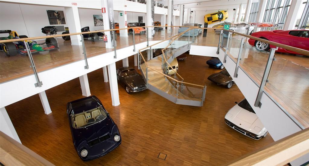 Lamborghini museum Google Streetview