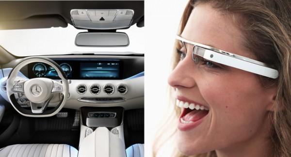 Mercedes-Google-Glass-System