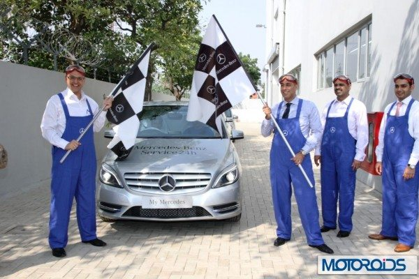 My Mercedes and T & T Motors Inauguration