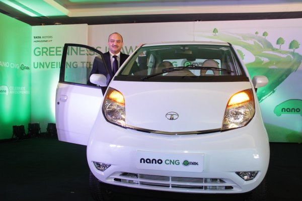 Nano eMax Launch- Mr. Ankush Arora - Sr. Vice President, Passenger Vehicles Unit (Commercial), Tata Motor Ltd.