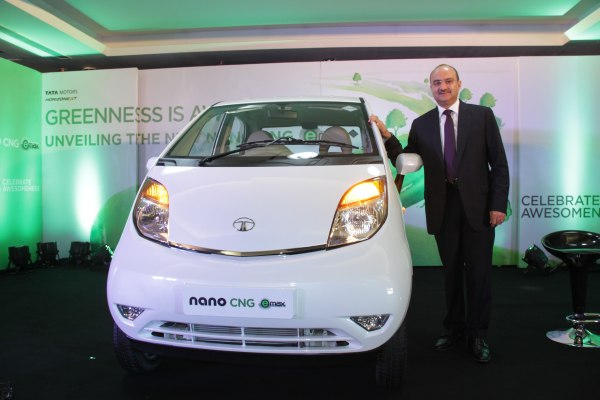Nano eMax launch- Mr. Ankush Arora- Sr. Vice President, Passenger Vehicles Unit (Commercial), Tata Motor Ltd