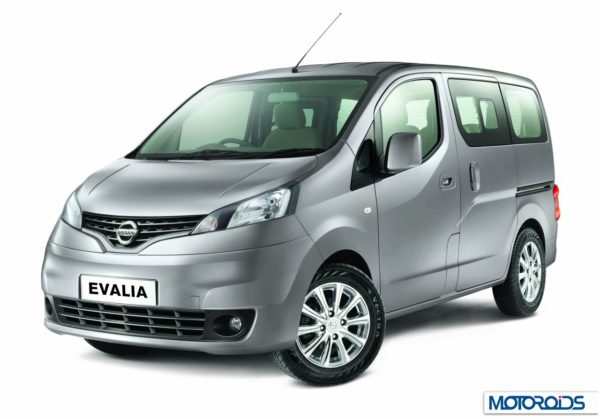 New Nissan Evalia with more features (1)