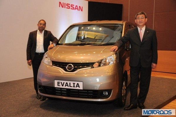 New Nissan Evalia with more features