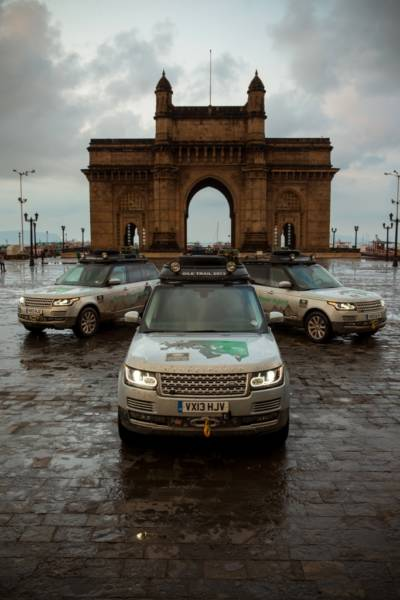 Range Rover Hybrid - Gateway of India, Mumbai