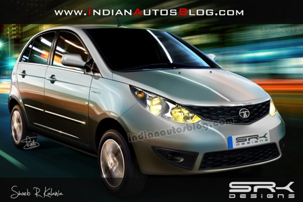 Is this how the 2014 Tata Vista would look like?