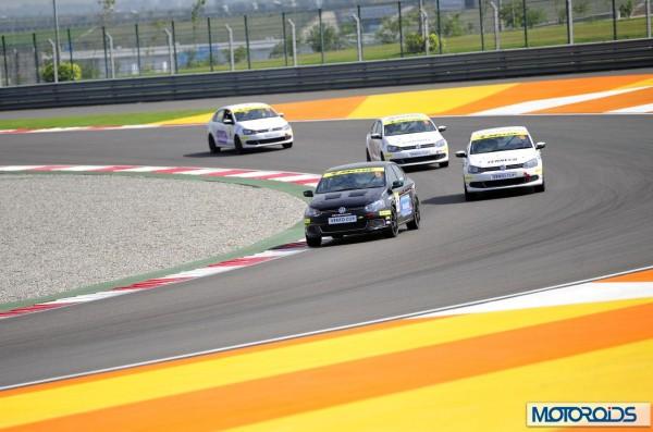 Volkswagen motorsports polo Vento media race (1)
