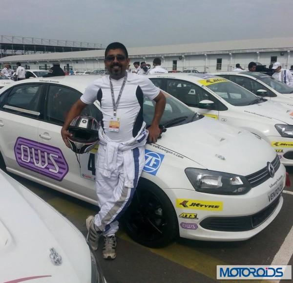 Volkswagen motorsports polo Vento media race (3)