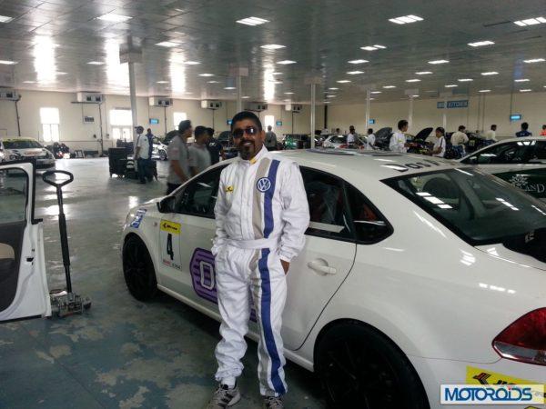 Volkswagen motorsports polo Vento media race (4)