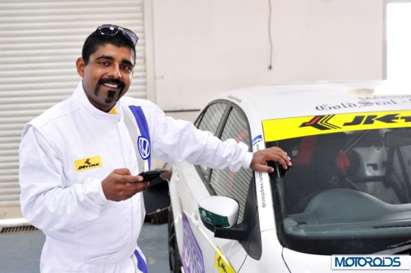 Volkswagen motorsports polo Vento media race (8)
