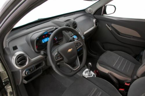 Interiors of Chevrolet Agile 2014 have been put together using higher quality materials