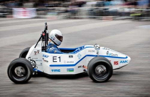 dutch students electric car speed record
