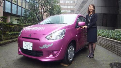 mitsubishi mirage hello kitty pics 2