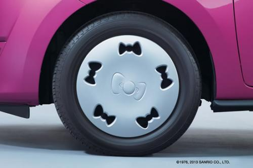 mitsubishi mirage hello kitty pics 3