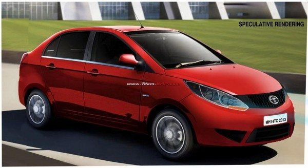Render- This is how the 2015 Tata Manza CS could look like