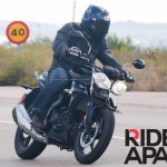 Triumph entry level 250cc motorcycle spotted testing