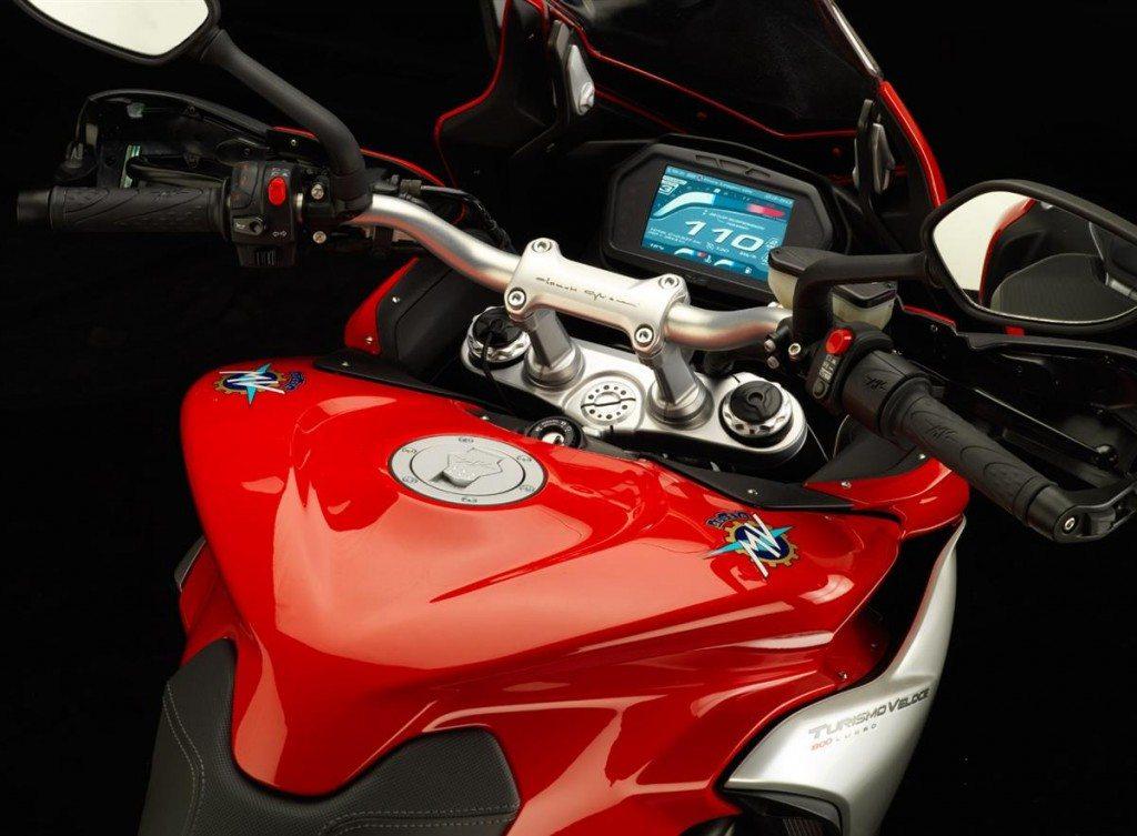 2014 MV Agusta Turismo Veloce 800 dashboard