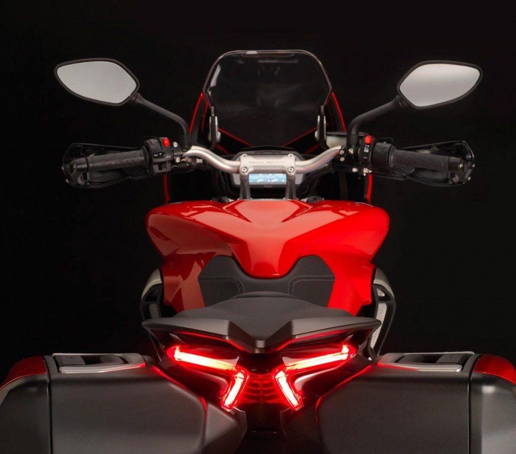 2014 MV Agusta Turismo Veloce 800 tail light