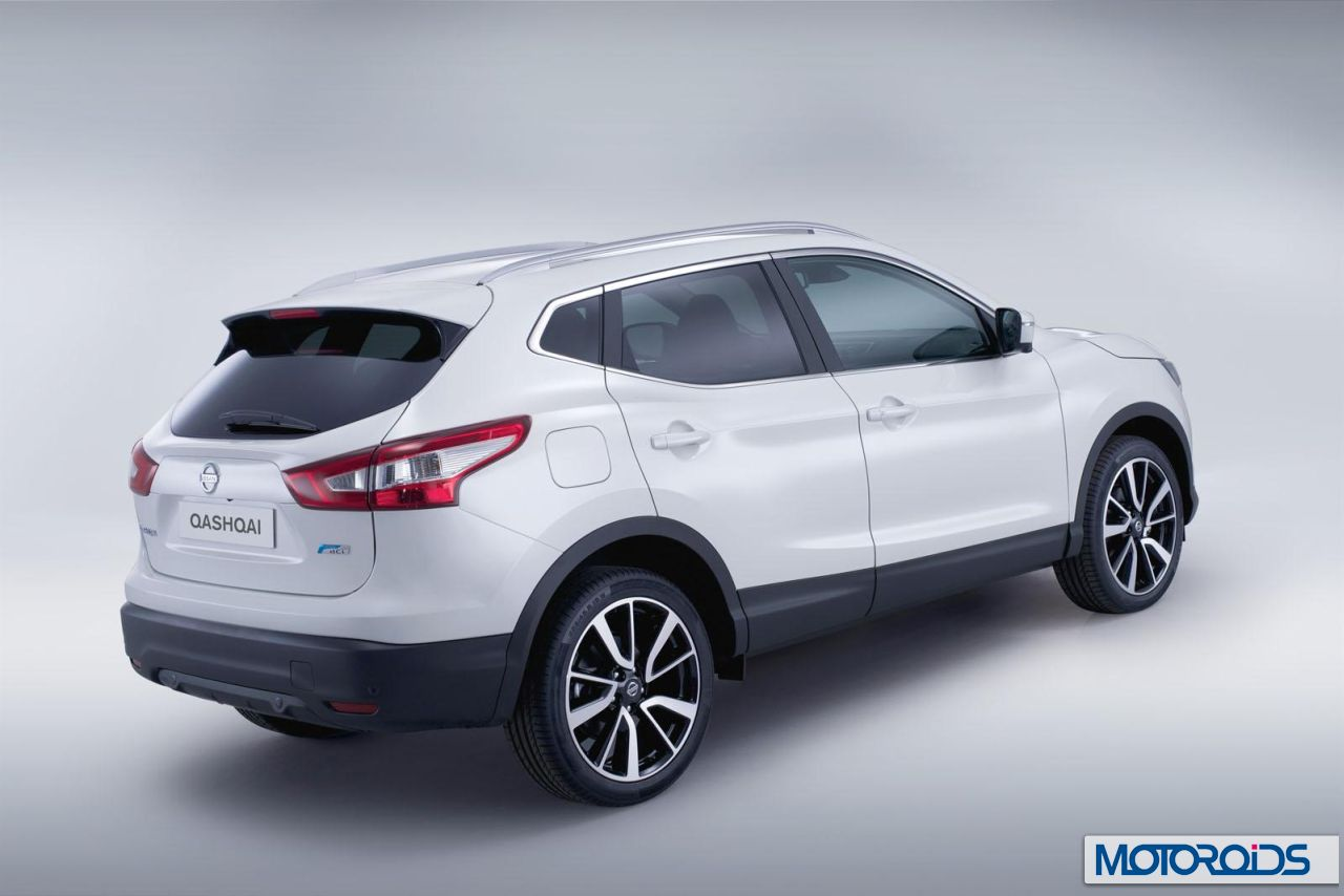 2014 nissan qashqai officially unveiled video official images and details motoroids. Black Bedroom Furniture Sets. Home Design Ideas