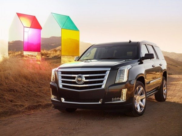 New 2015 Cadillac Escalade makes its motor show debut at the 2013 LA Auto Show