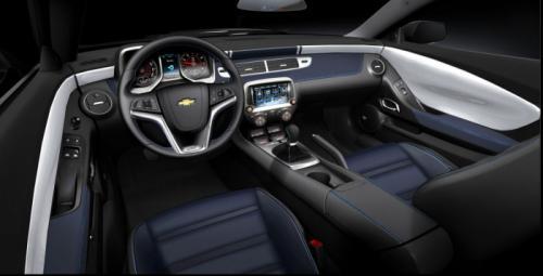 2014 chevrolet camaro spring edition interiors
