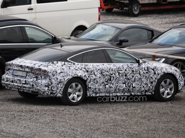 Upcoming 2015 Audi A7 Facelift Caught On Test