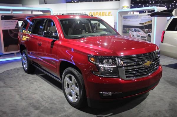 New 2015 Chevrolet Tahoe showcased at 2013 LA Auto Show