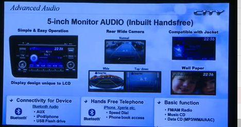 Audio system city