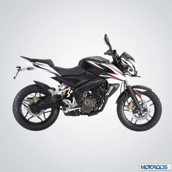 Bajaj Pulsar 200NS Black and White
