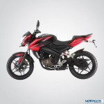 Pulsar 200NS to be introduced in a Red and Black shade as well