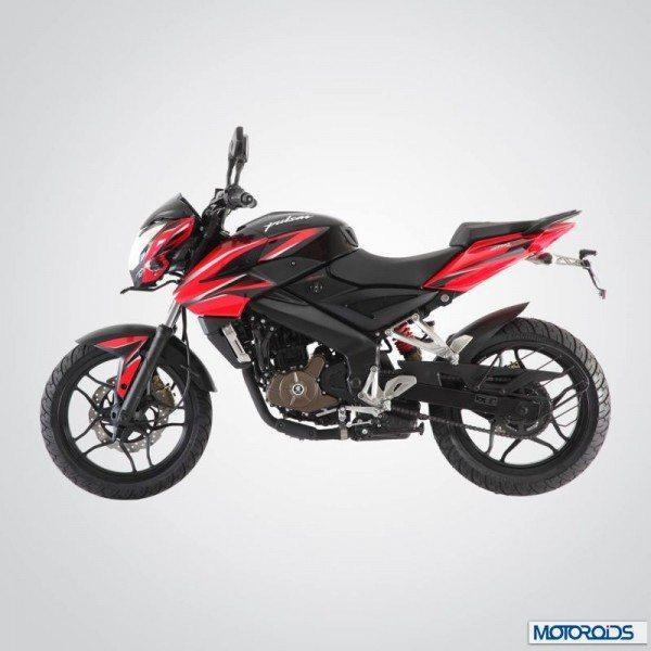 Bajaj Pulsar 200NS Red and Black