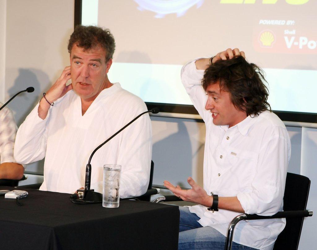 Clarkson Hammond driving ban