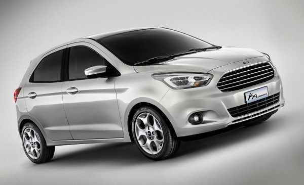 Ford Ka Concept new next gen Figo (2)