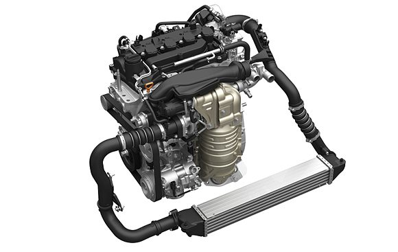 Honda 1.5-liter VTEC turbo engine