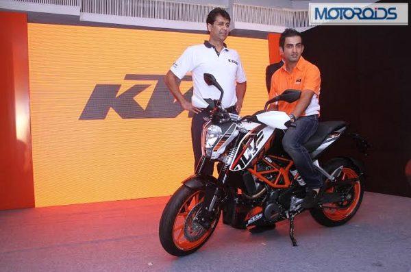 KTM 390 Duke Gautam Gambhir (1)