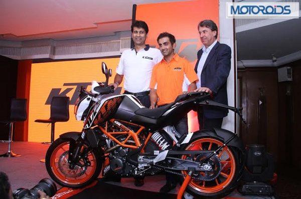 KTM 390 Duke Gautam Gambhir (2)