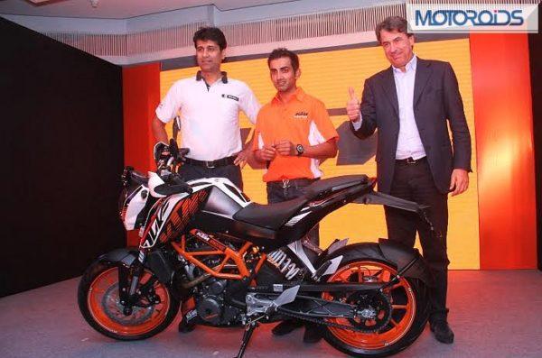 KTM 390 Duke Gautam Gambhir (3)