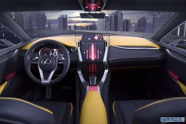 Lexus LF-NX HV crossover concept (1)