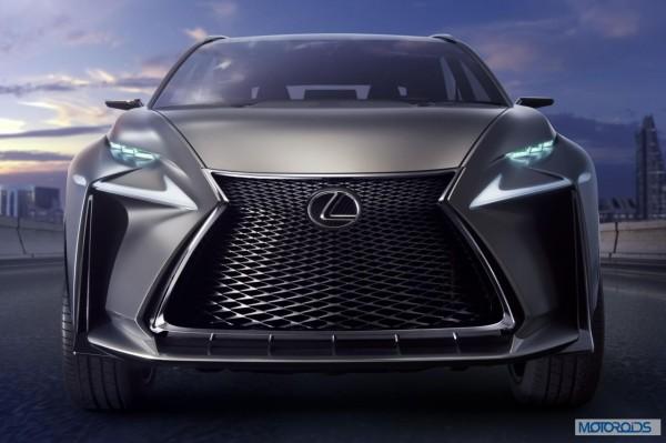 Lexus LF-NX HV crossover concept (2)