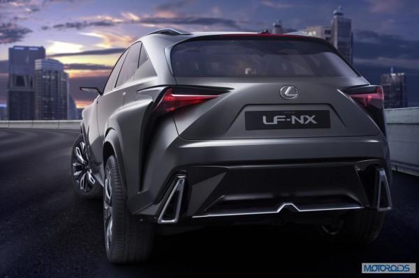 Lexus LF-NX HV crossover concept (3)