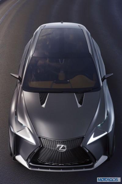 Lexus LF-NX HV crossover concept (4)