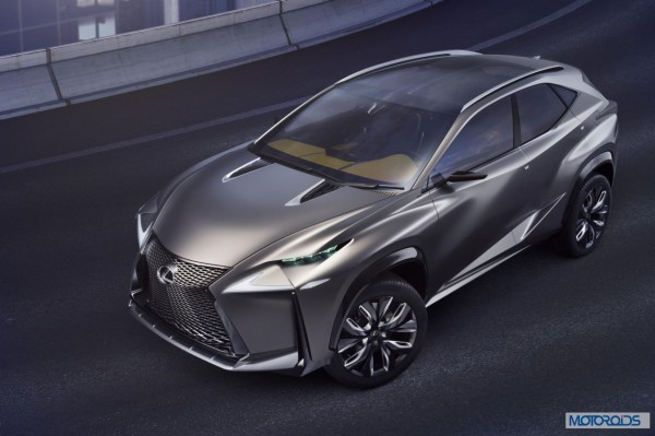 Lexus LF-NX HV crossover concept (5)